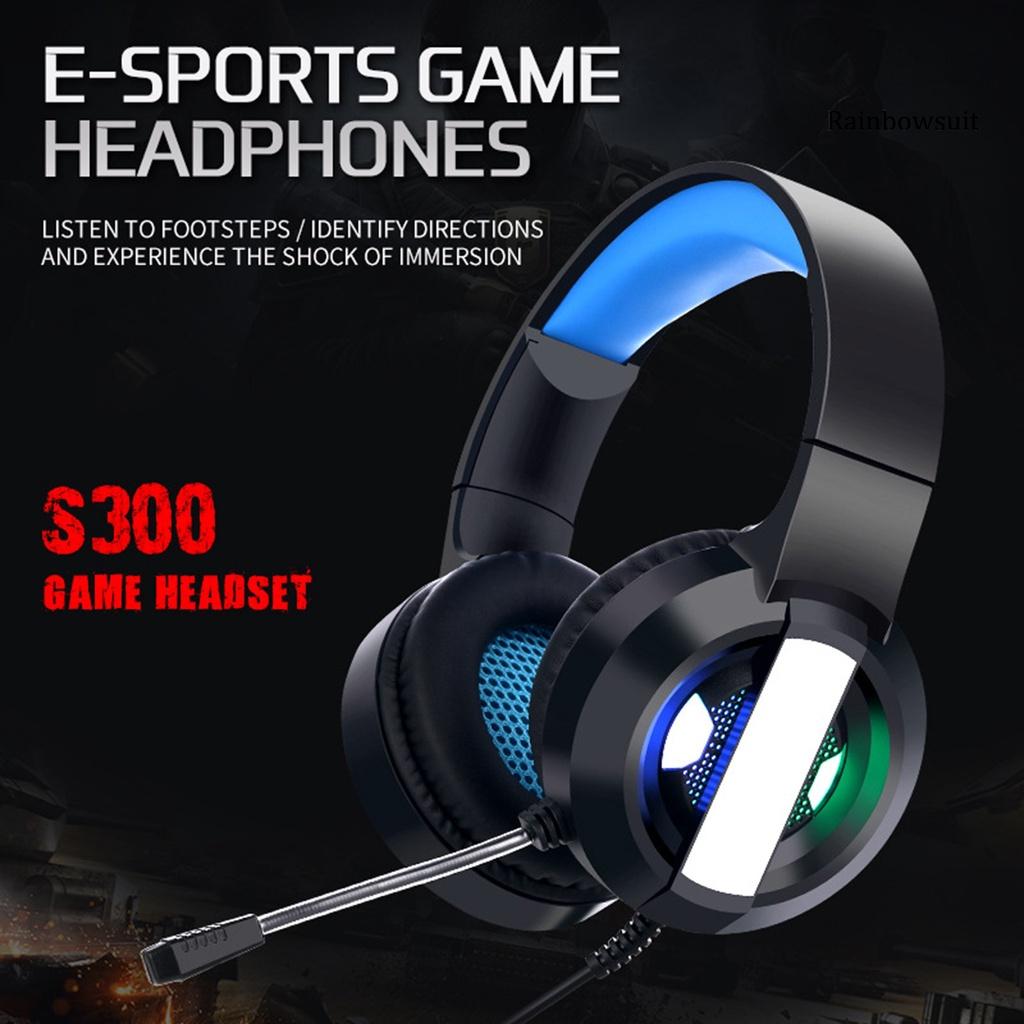 Tai Nghe Gaming Rb- S300 3d Kênh 7.1 Hifi Có Dây