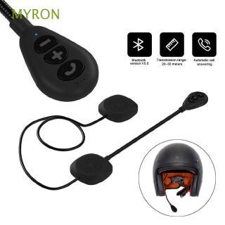 Tai nghe Bluetooth myron gắn mũ bảo hiểm có thể sạc được