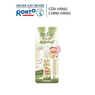 Xịt Khử Mùi Refre Natural Green Tea Hương Trà Xanh 30Ml (Phiên bản Quỳnh Aka)