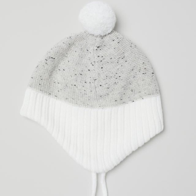 Mũ len và găng tay cho bé HM auth