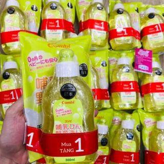 Nước rửa bình sữa Combi Japan