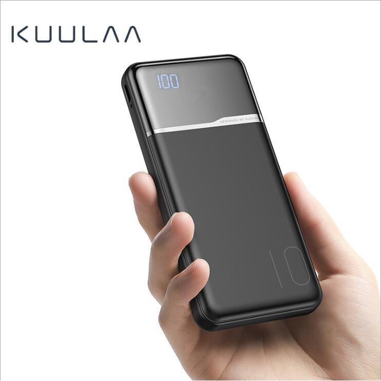 Pin sạc dự phòng KUULAA 10000mah có đèn LED chất lượng cao