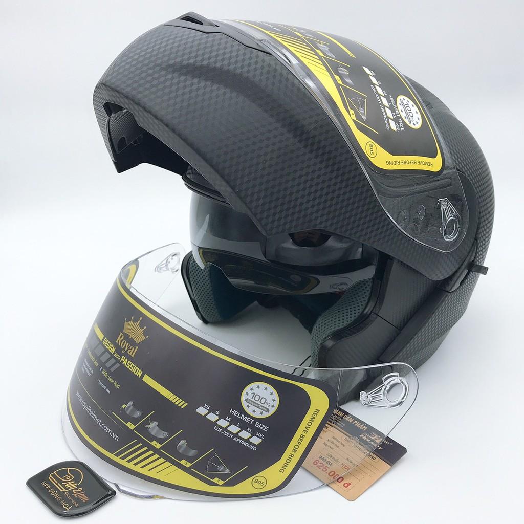 Kính mũ bảo hiểm Royal M179