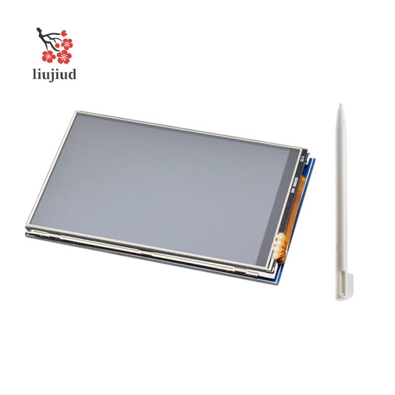 Màn Hình Lcd + Bút Cho Raspberry Pi 4b 3b 3b + 3.5 Inch