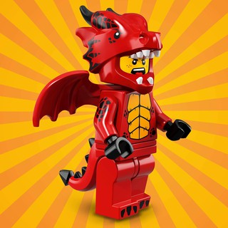 LEGO Minifigures Dragon Suit Guy Seri 18