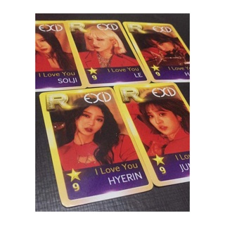 Card EXID I LOVE YOU OFFICIAL