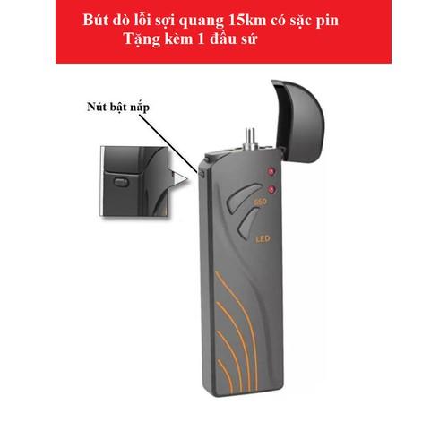 Bút soi quang 15km pin Lithium hàng cao cấp VFL650-15km-Lithium