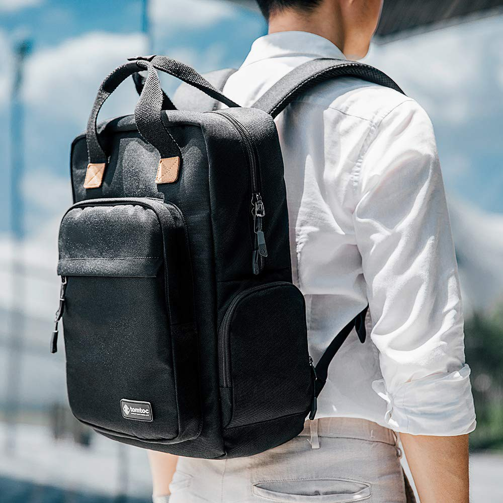 BALO TOMTOC A60 (USA) DAILY BACKPACK FOR ULTRABOOK 15'/22L BLACK - 14218162 , 2203670551 , 322_2203670551 , 1850000 , BALO-TOMTOC-A60-USA-DAILY-BACKPACK-FOR-ULTRABOOK-15-22L-BLACK-322_2203670551 , shopee.vn , BALO TOMTOC A60 (USA) DAILY BACKPACK FOR ULTRABOOK 15'/22L BLACK