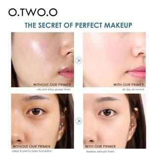 Hình ảnh Bộ mỹ phẩm trang điểm O.TWO.O gồm kem lót + kem BB + che khuyết điểm + mút trang điểm 180g-2