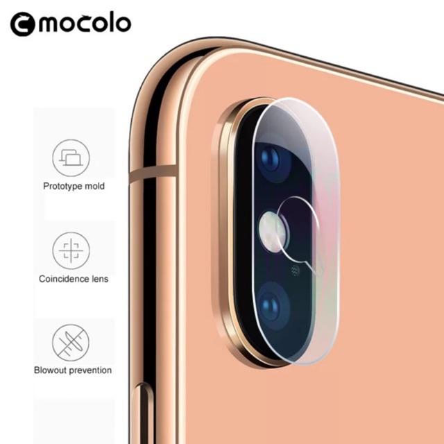 Bộ 2 Kính Bảo Vệ Camera iPhone X/Xs Max/7 plus/8plus,Cường Lực Camera  iPhone Mocolo