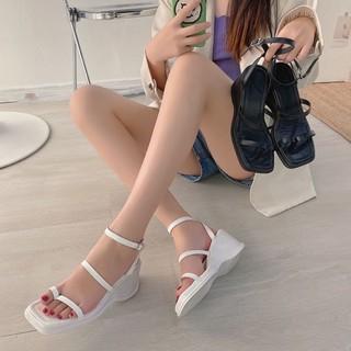 Sandal xuồng 2 quai đế 7 phân
