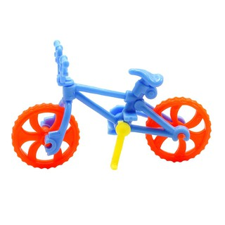 UEBTECH 1set DIY Assembled Bicycle Toy Mini Bike Plastic Toys for Kid Education Kit /KT
