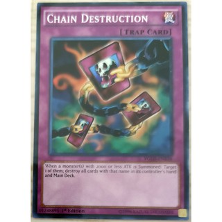 [Thẻ Yugioh] Chain Destruction