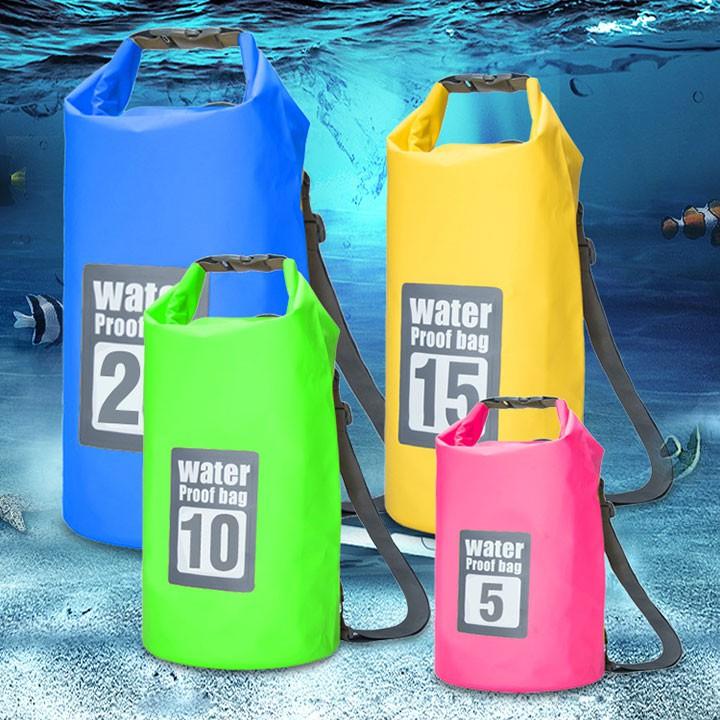 Túi chống nước đi biển, du lịch loại 20L