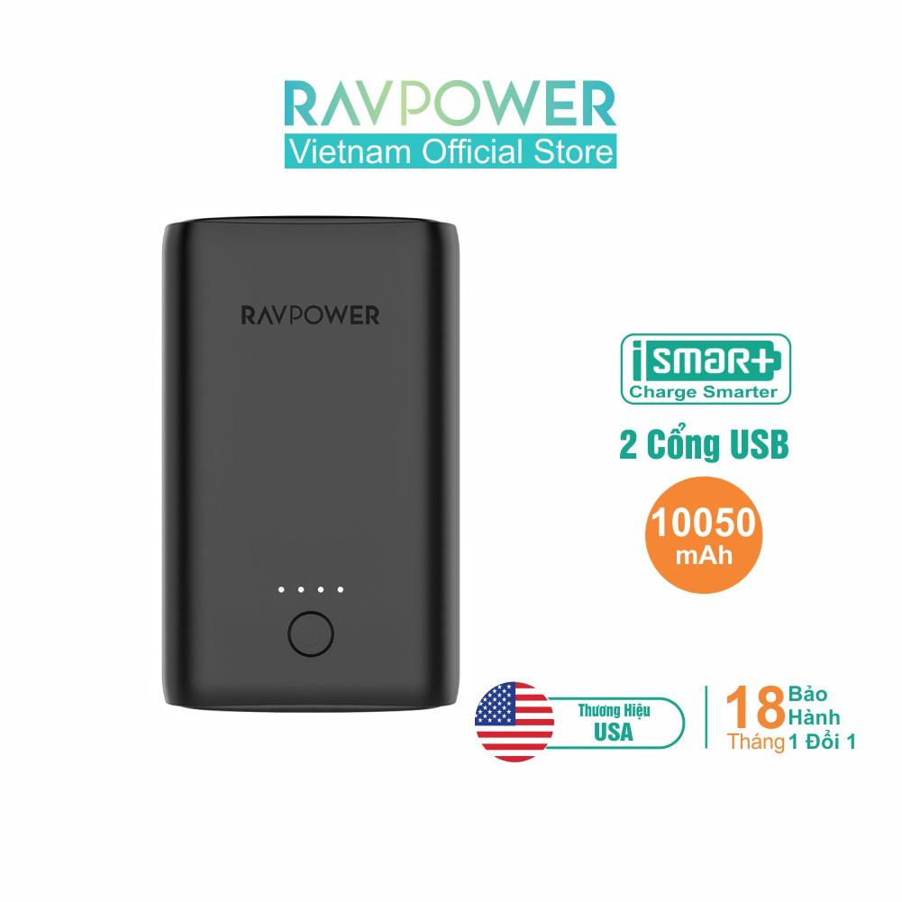Pin Sạc Dự Phòng RAVPower 10050mAh RP-PB170 - Hãng Phân Phối Chính T