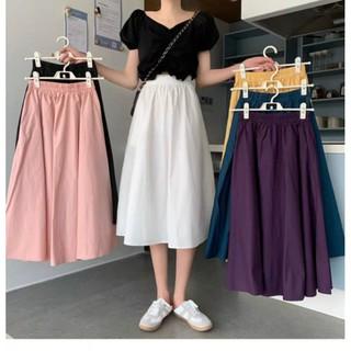 Chân Váy Dài Hàn Quốc Lưng Chun 40-70KG