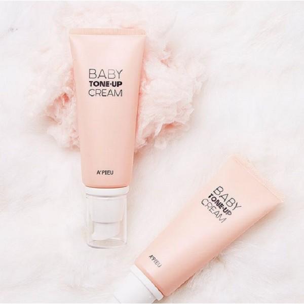 Kem Dưỡng A'pieu Baby Tone-Up Cream 65G - HSD: 07/2020 - 2587690 , 454287644 , 322_454287644 , 142000 , Kem-Duong-Apieu-Baby-Tone-Up-Cream-65G-HSD-07-2020-322_454287644 , shopee.vn , Kem Dưỡng A'pieu Baby Tone-Up Cream 65G - HSD: 07/2020