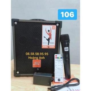 Loa kéo Jbz106. Bass 1 tấc 8…tặng kèm 1 mỉco Ko Dây + sạc + remto+dây tín hiệu tivi rivi