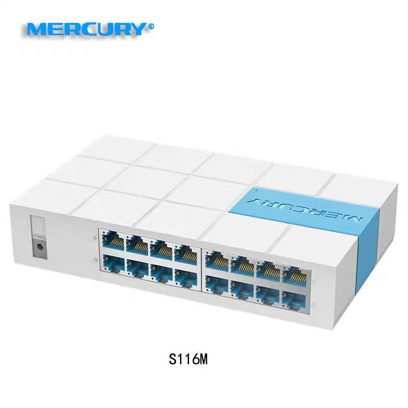 Bộ chia mạng Switch MERCURY S116M 100Mb 16 cổng Giá chỉ 405.000₫