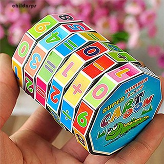 Children Kids Mathematics Magic Cube Puzzle Education Learning Maths Toy Gift