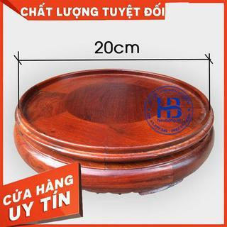 Đế bát hương 20cm (đồ thờ gỗ, kê bát hương) Nội Thất