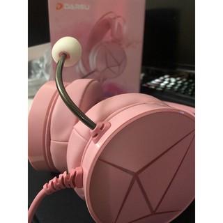 [ Giá gốc ] Tai nghe DAREU EH722s Âm thanh 7.1 Đèn led RGB đổi màu Tai nghe màu hồng cực đẹp Chính hãng BH 12 T