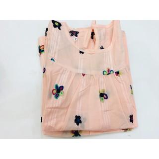 GIÁ HỦY DIỆT  xả váy đầm mùa hè cho bé gái vải thô xuất khẩu thêu hoa rất đẹp mặc mát