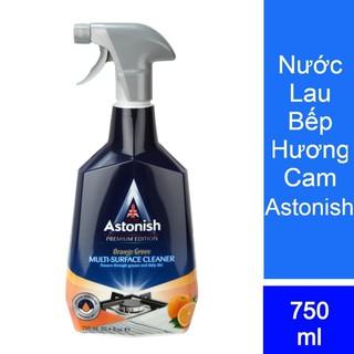 Tẩy dầu mỡ ASTONISH tẩy lưới hút mùi, tẩy bếp gas, bếp từ, xoong chảo cháy C6760_750ml .Sản xuất Tại Anh Quốc 3