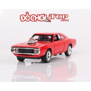 Xe mô hình siêu tốc độ Dodge Fast & Furious 7 màu đỏ