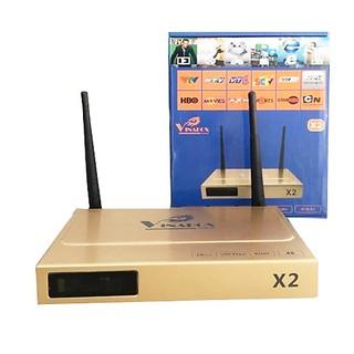 Box Smart Tivi Vinabox X2 - 1G - Có Kho Phim Riêng. Vi Tính Quốc Duy