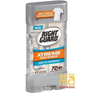Gel lăn khử mùi Xtreme Right Guard 72h 113 gram, hàng Mỹ
