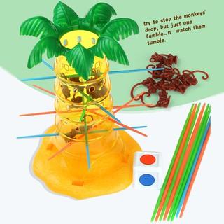Funny Falling Tumbling Monkey Kids Funny Desktop Game Educational Toys for Kids
