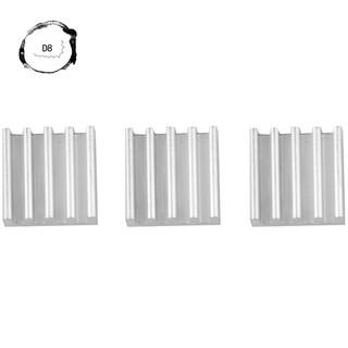 50pcs 9*9*5mm Mini Aluminium Heatsink For IC LED Chipset RAM