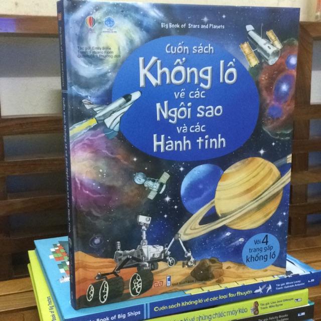 Big book - cuốn sách khổng lồ về các ngôi sao và các hành tinh ( giá bìa 150.000 )