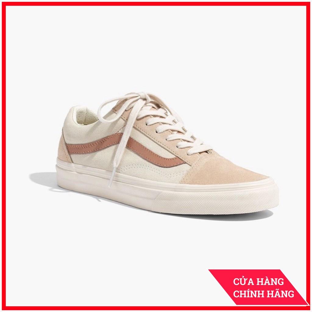 Giày Sneaker [REAL] Vans-Old-Skool-Camel