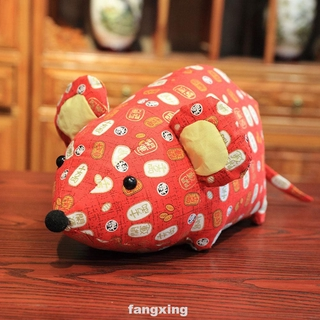 Holiday Desktop Chinese New Year Kids Children Home Decor Mouse Plush Toy