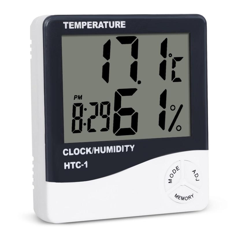Nhiệt ẩm kế điện tử có màn hình LCD