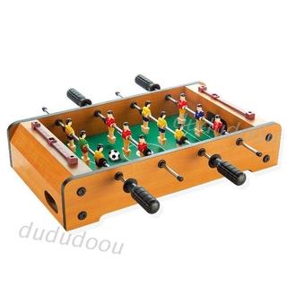 DO❤ Children Six-bar Foosball Table Wooden Indoor Board Game Football Soccer Sports