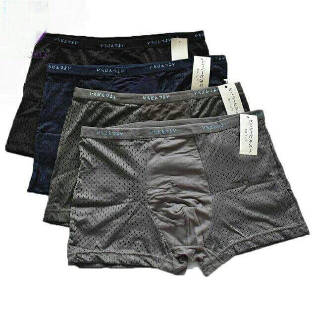 [HUẾ] Sịp đùi thông hơi nhật mềm mát-quần boxer