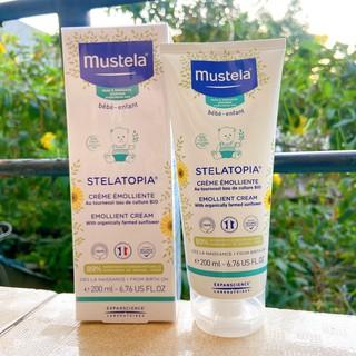 Mustela Kem Dưỡng Da Chàm Thể Tạng (Viêm Da Cơ Địa) Stelatopia Emollient Cream 200ml thumbnail