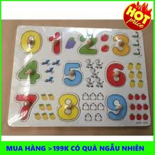 Bảng 10 số tập đếm cho bé 020 có núm – THANH XUÂN