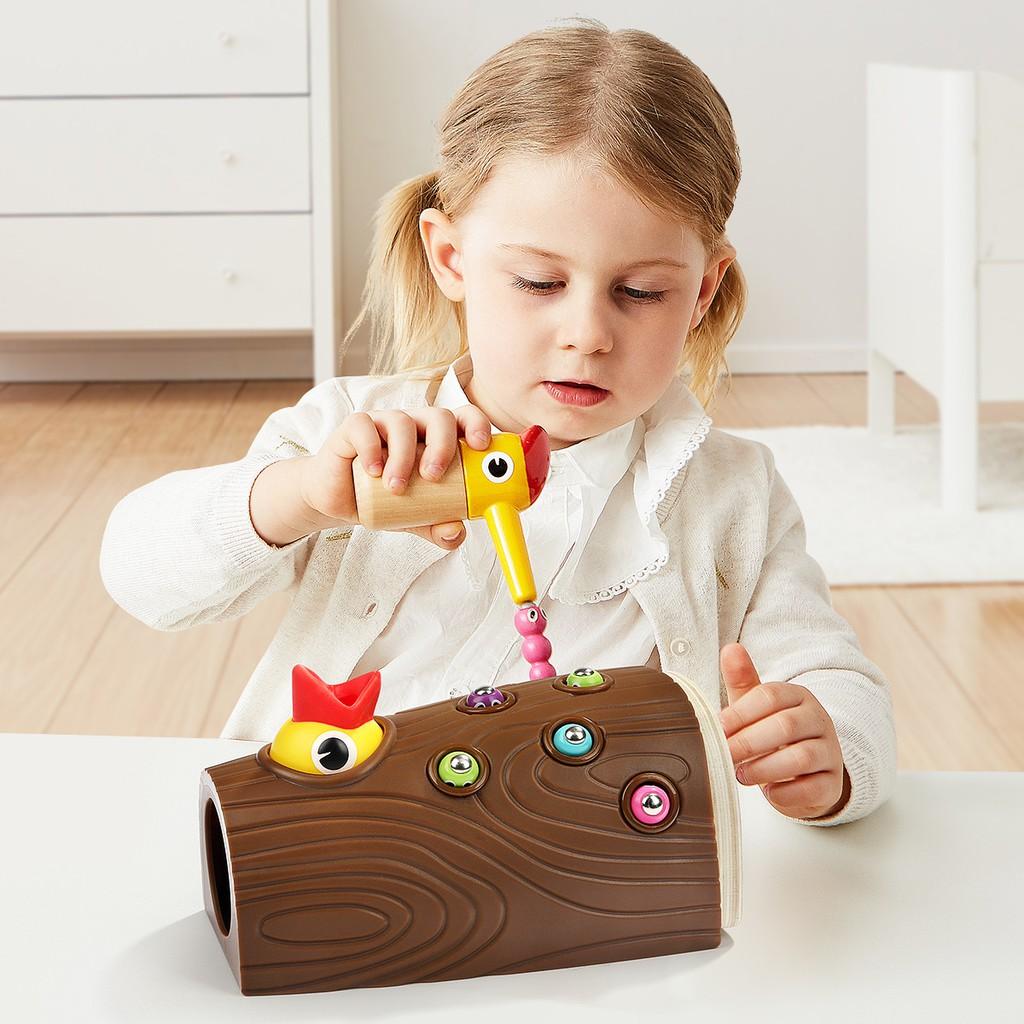 Bộ đồ chơi chim gõ kiến giúp phát triển trí não cho trẻ em giảm chỉ còn  511,000 đ