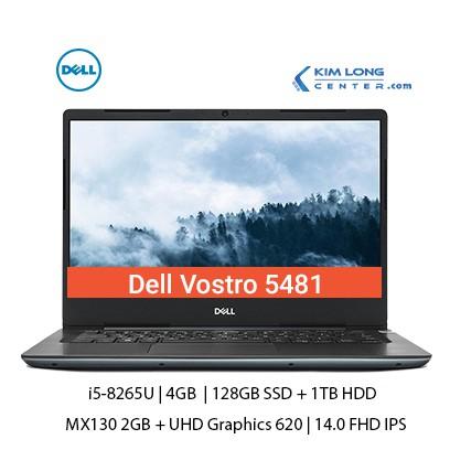 Laptop Dell Vostro 5481 i5-8265U | 4GB | 128GB + 1TB | MX130 2GB | 14.0 FHD IPS | Finger | Ledkey | Win10