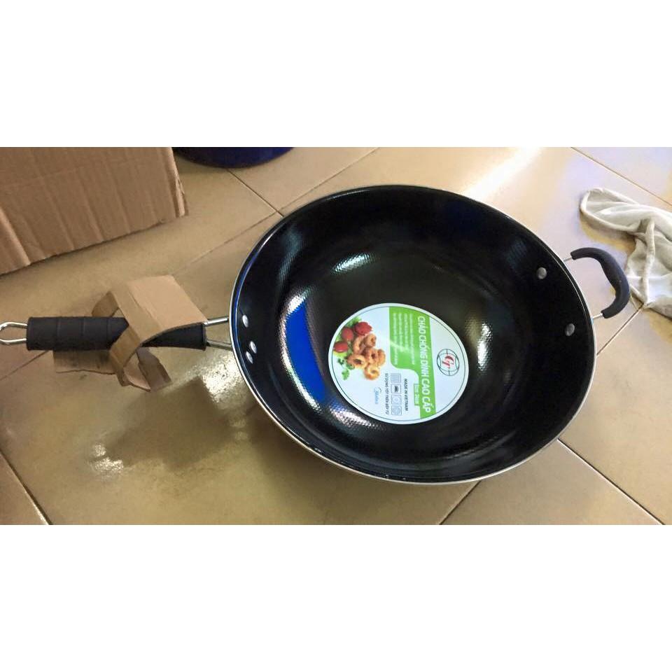 Chảo bếp từ chống dính cao cấp Midea