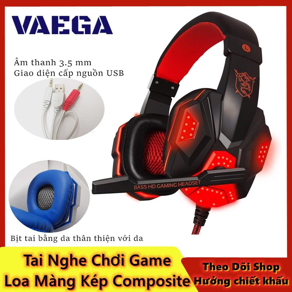 Tai nghe chuyên game thủ Plextone PC780 - đèn LED - Có Mic - Headphone gaming