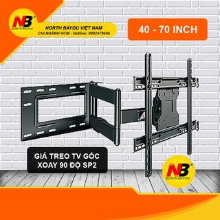Giá treo tivi đa năng nhập khẩu NB SP2 cho tivi 40-70inch cánh tay siêu dài có thể quay tivi vuông góc 90 độ