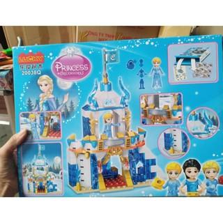 Lego lâu đài công chúa elsa