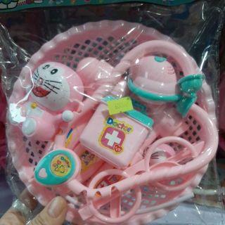 Rổ đồ chơi – bác sĩ cho bé yêu