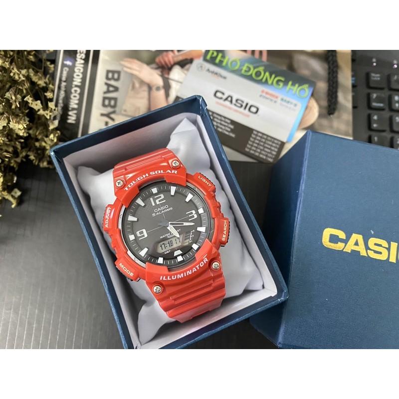 Đồng hồ nam dây nhựa Casio Anh Khuê AQ-S810WC-4AVDF