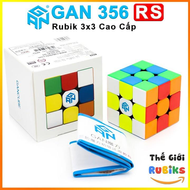 [Sốc] Rubik Gan 356 RS 3x3 Rubik - Siêu Phẩm Rubik Gan RS 3x3x3 Cube Rubik 3 Tầng